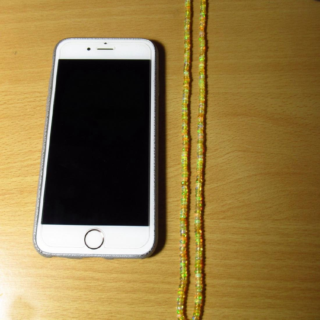 32.67 Carat Natural 255 Loose Ethiopian Opal Beads - 3