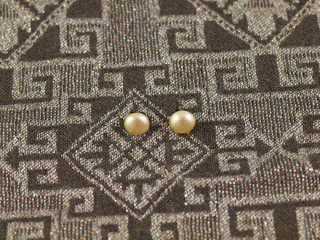 Vintage Earrings 1950s Synthetic Pearl