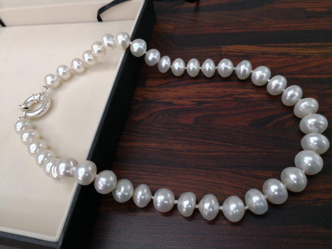 Japanese Akoya Pearls Necklace Round Shape 8.5-9mm - 6