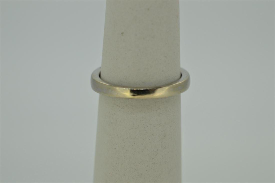 Finely Detailed 14k White Gold & Diamond Ring, .75ct - 4