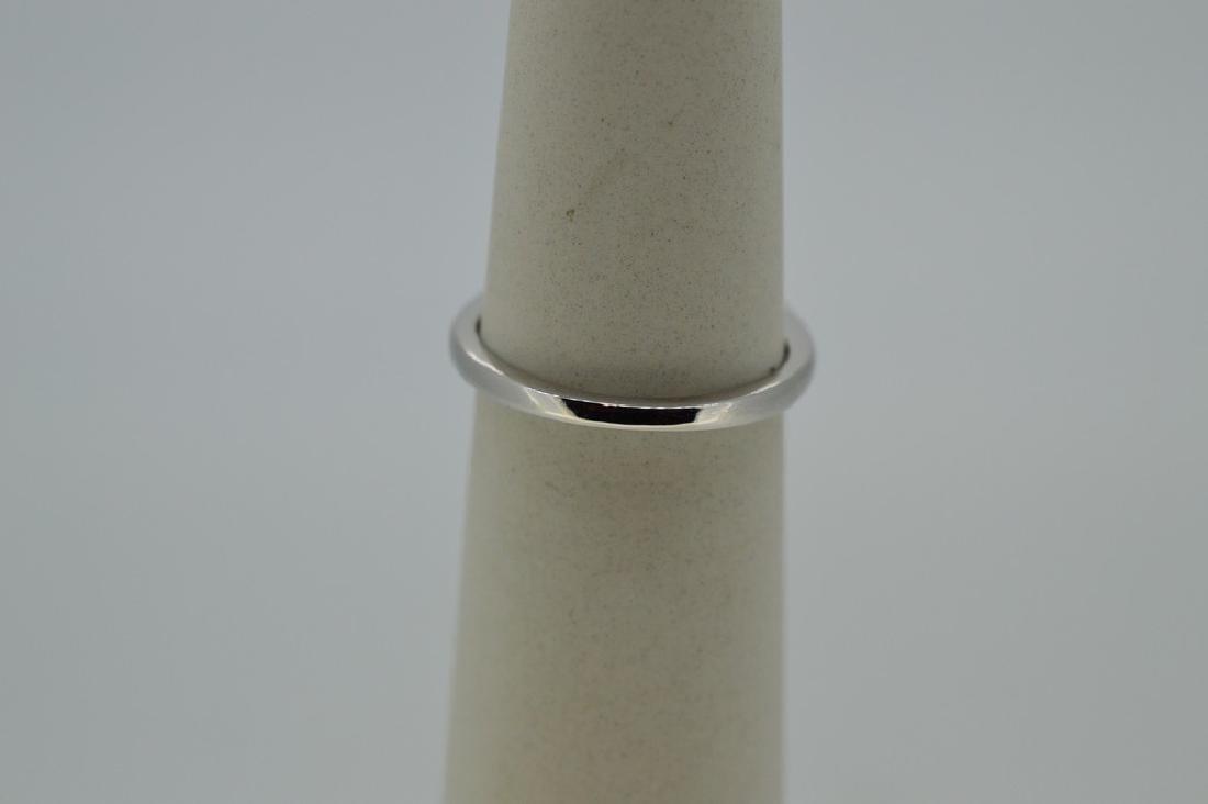 Platinum Natural White Beryl Diamond Ring, 4.37ct - 3