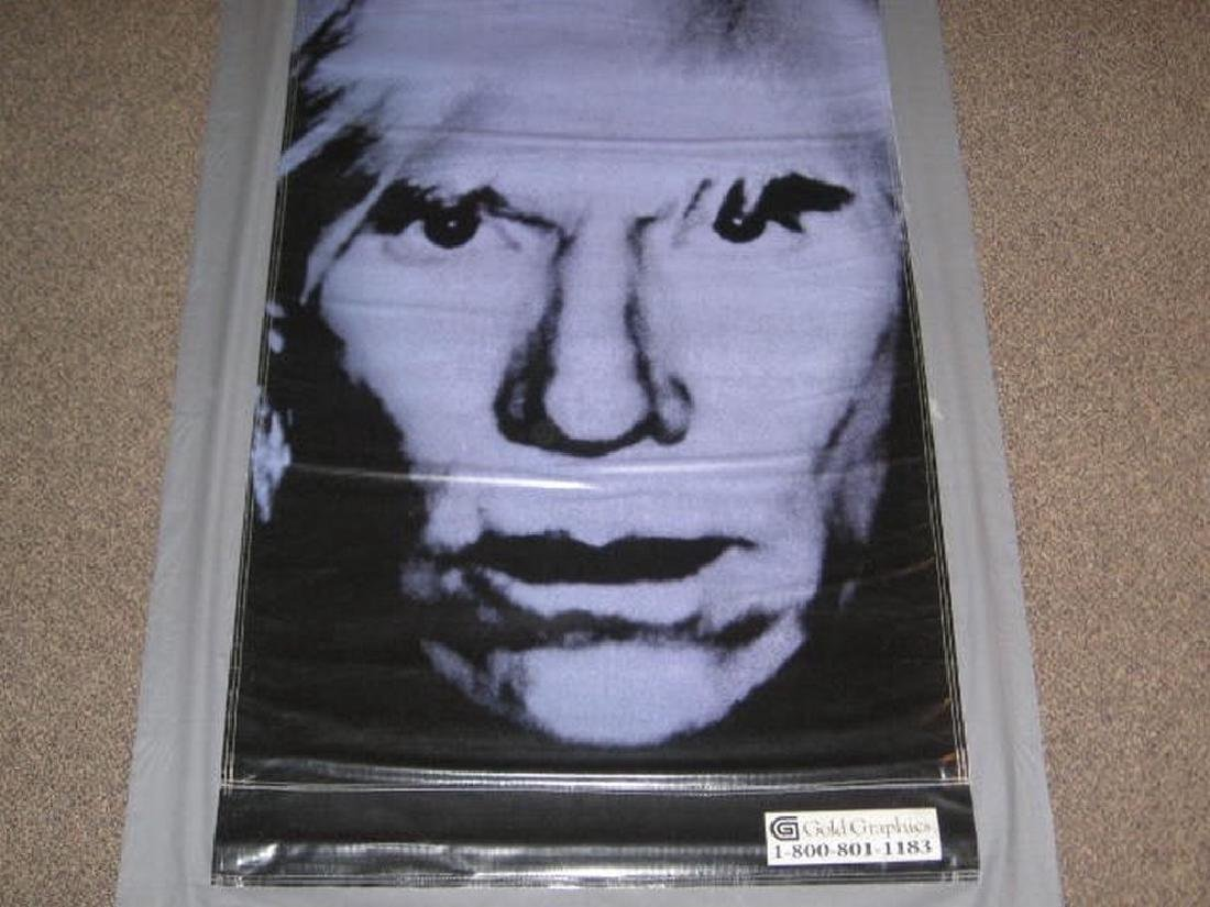 Andy Warhol Museum Exhibition Banner