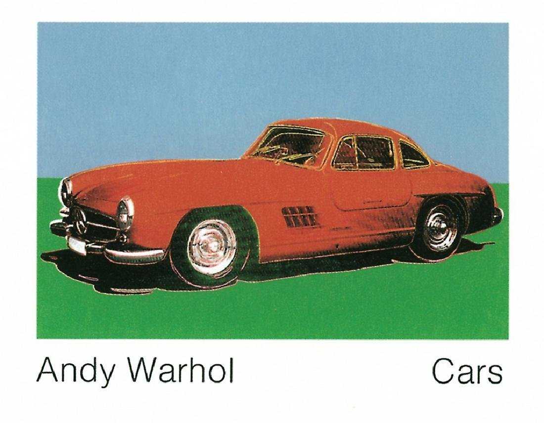Andy Warhol Lithograph 300 Sl Coupe (1954) (Lg)