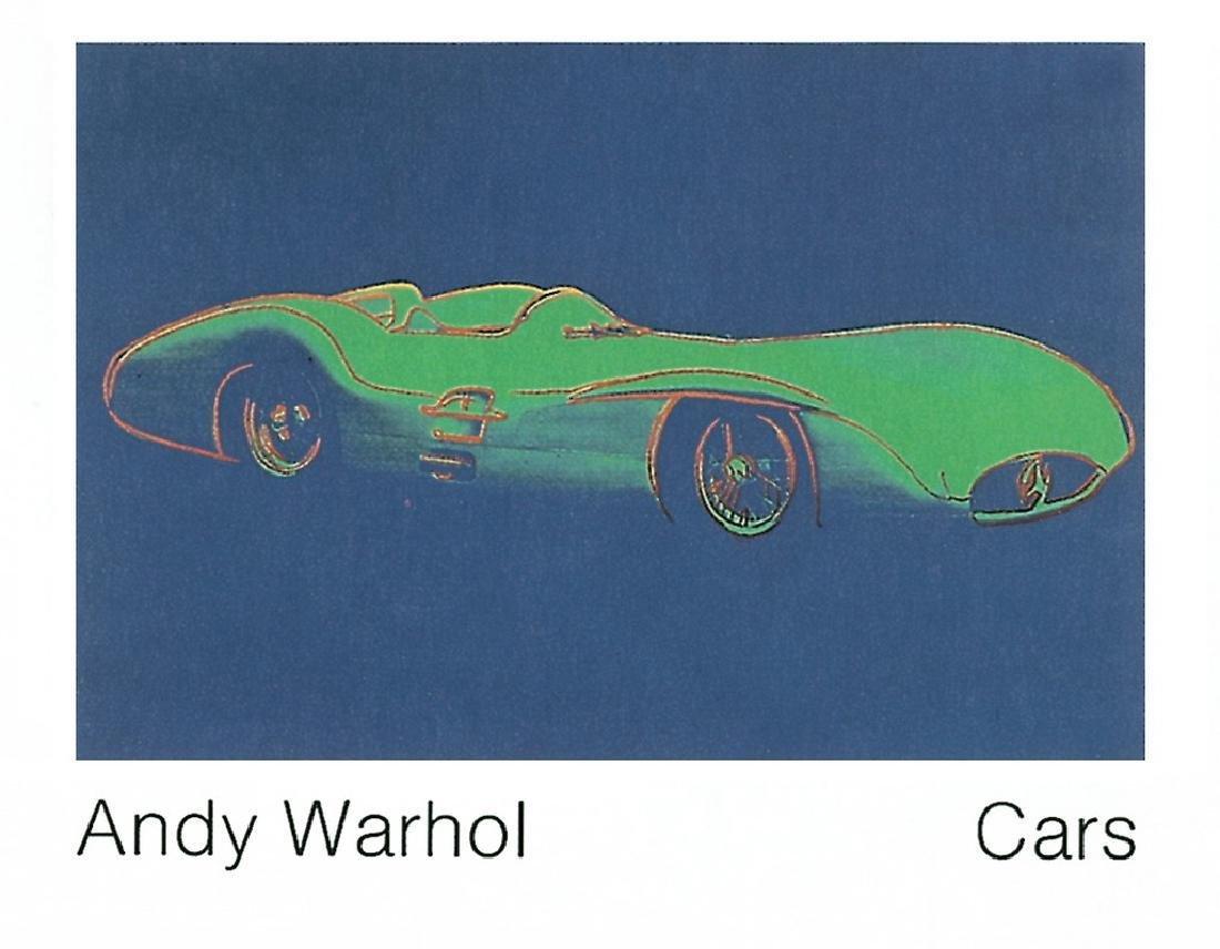 Andy Warhol Lithograph Formula 1 Car W196 R (1954)
