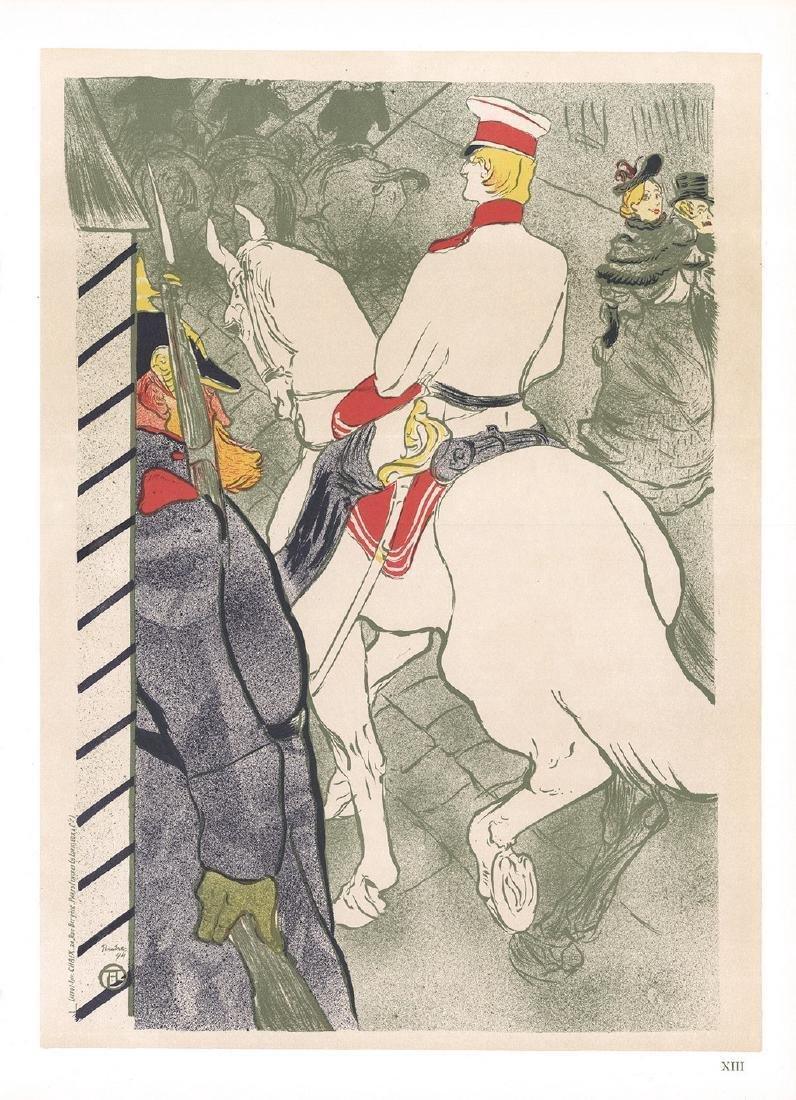 Henri de Toulouse-Lautrec 3 Assorted Lithographs
