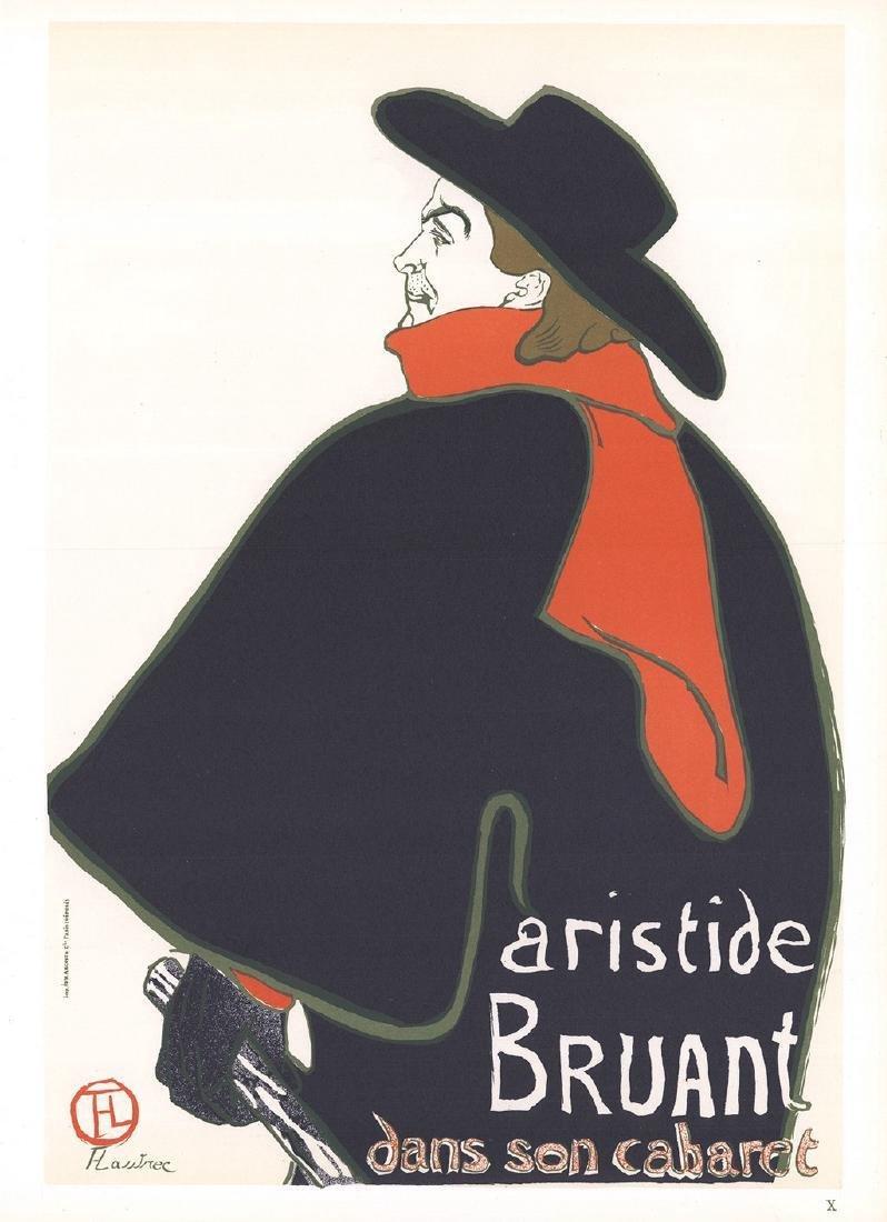 Henri de Toulouse-Lautrec 3 Assorted Lithographs - 2