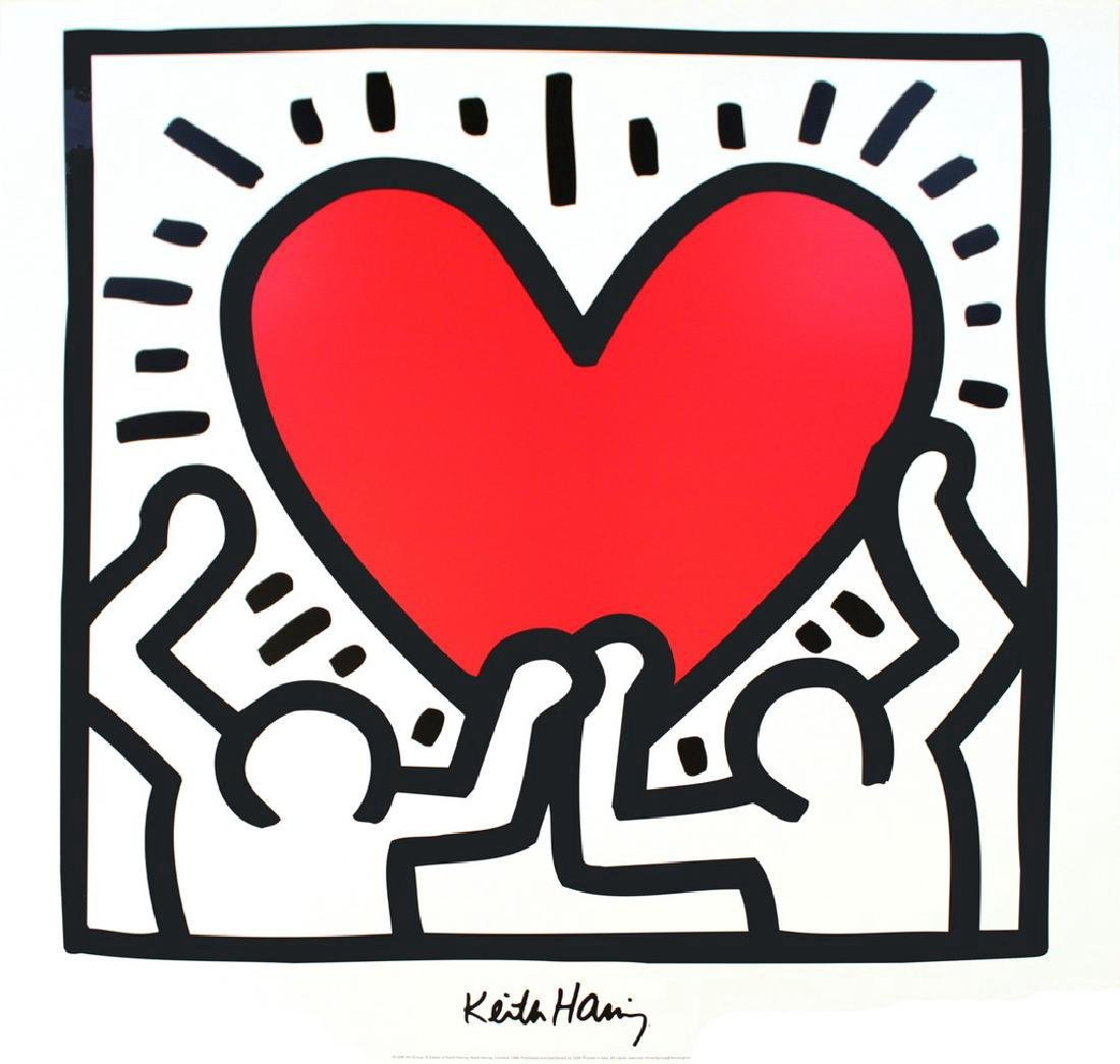 Keith Haring 2 Assorted Keith Haring Posters - 2