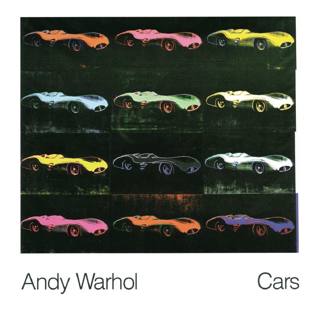 Andy Warhol Lithograph Formula 1 Car W 196 R (1954)