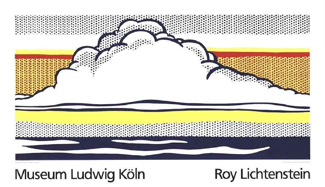 Roy Lichtenstein 2 Assorted Landscapes Posters