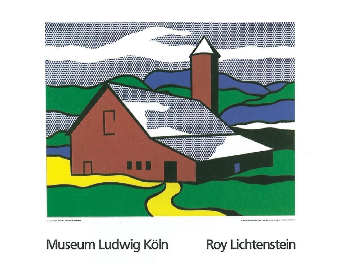 Roy Lichtenstein 2 Assorted Landscapes Posters - 2