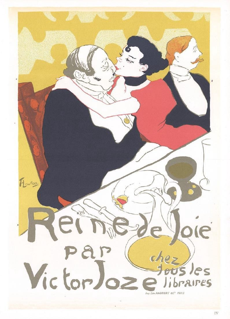 Henri de Toulouse-Lautrec 3 Assorted Lithographs - 2