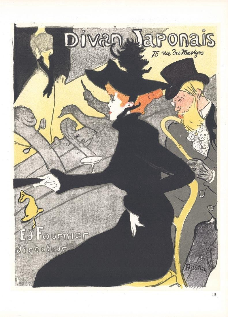 Henri de Toulouse-Lautrec 3 Assorted Lithographs - 3
