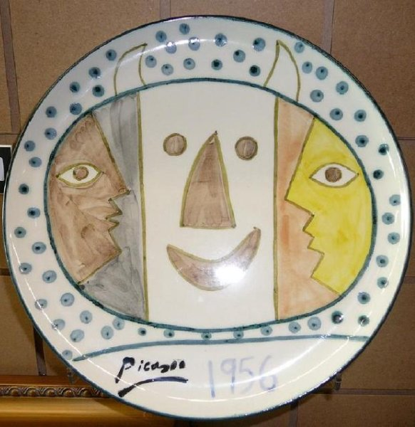 Pablo Picasso, After Ceramic Anniversary Plate