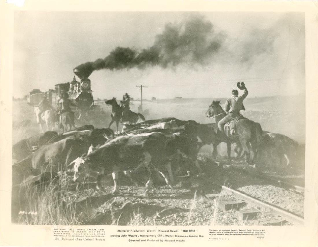 John Wayne in Red River 1952 Photograph