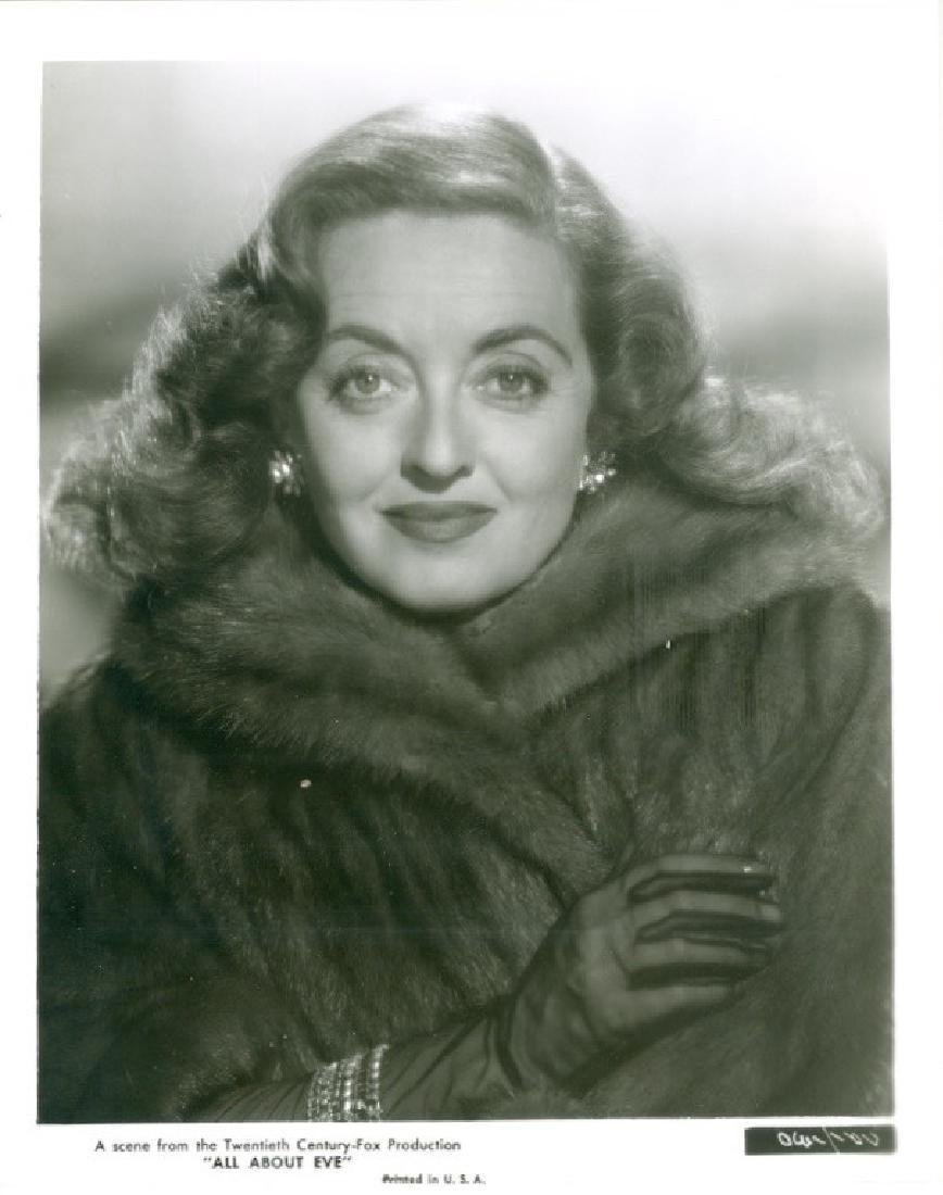 Bette Davis in All About Eve 1950 Photograph