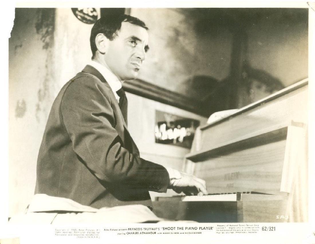 Francois Truffaut's Shoot the Piano Player 1962 Photo