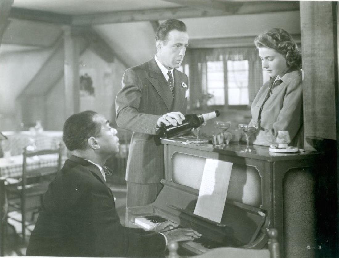 Casablanca Starring Humphrey Bogart 1960's Photograph
