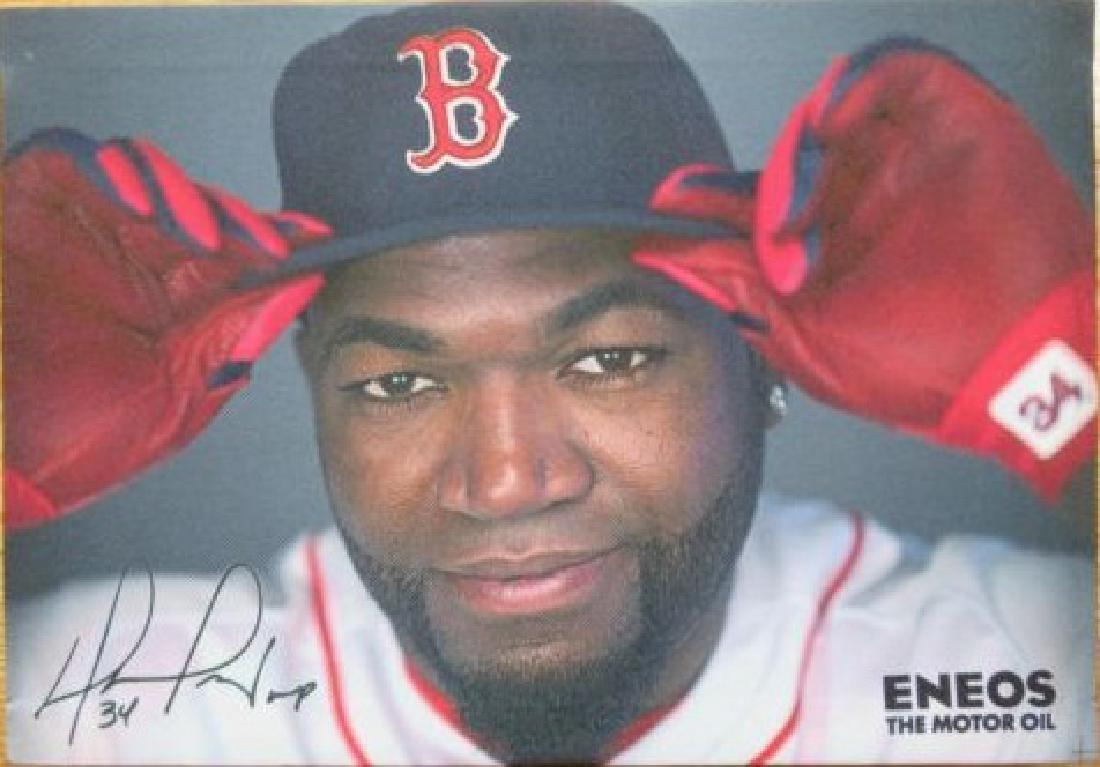 David Ortiz Boston Red Soxs Stadium Eneos Motor Oil