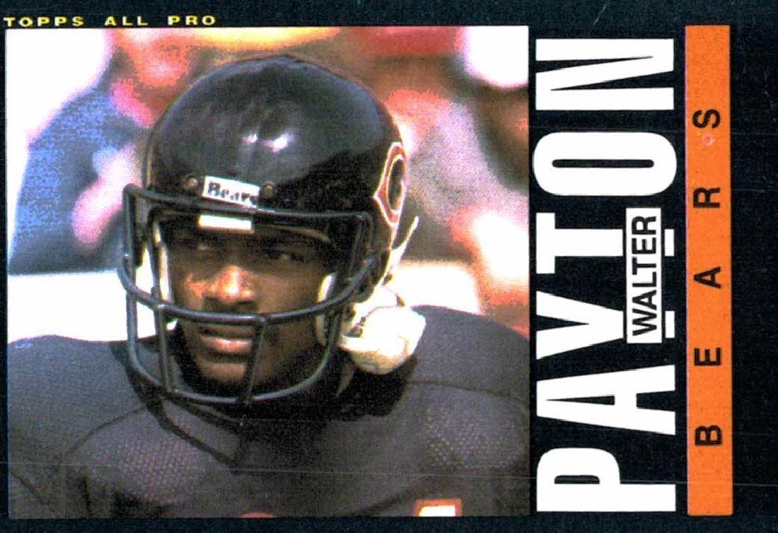 1985 Topps Walter Payton Chicago Bears Football Card