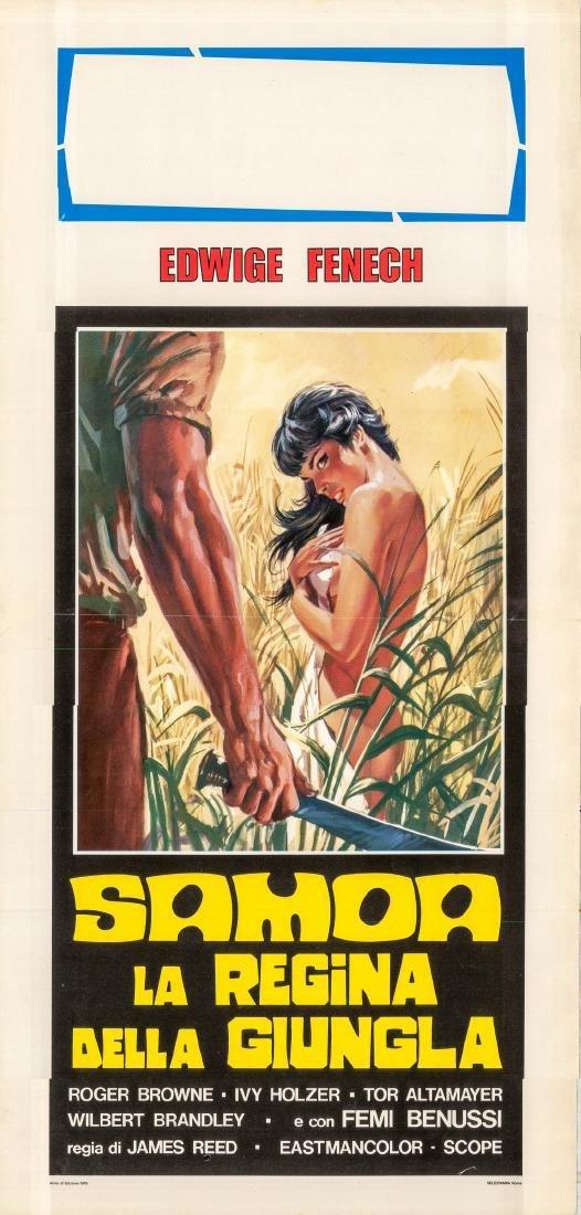 Samoa Queen of the Jungle 1968 Italian Locandina Poster