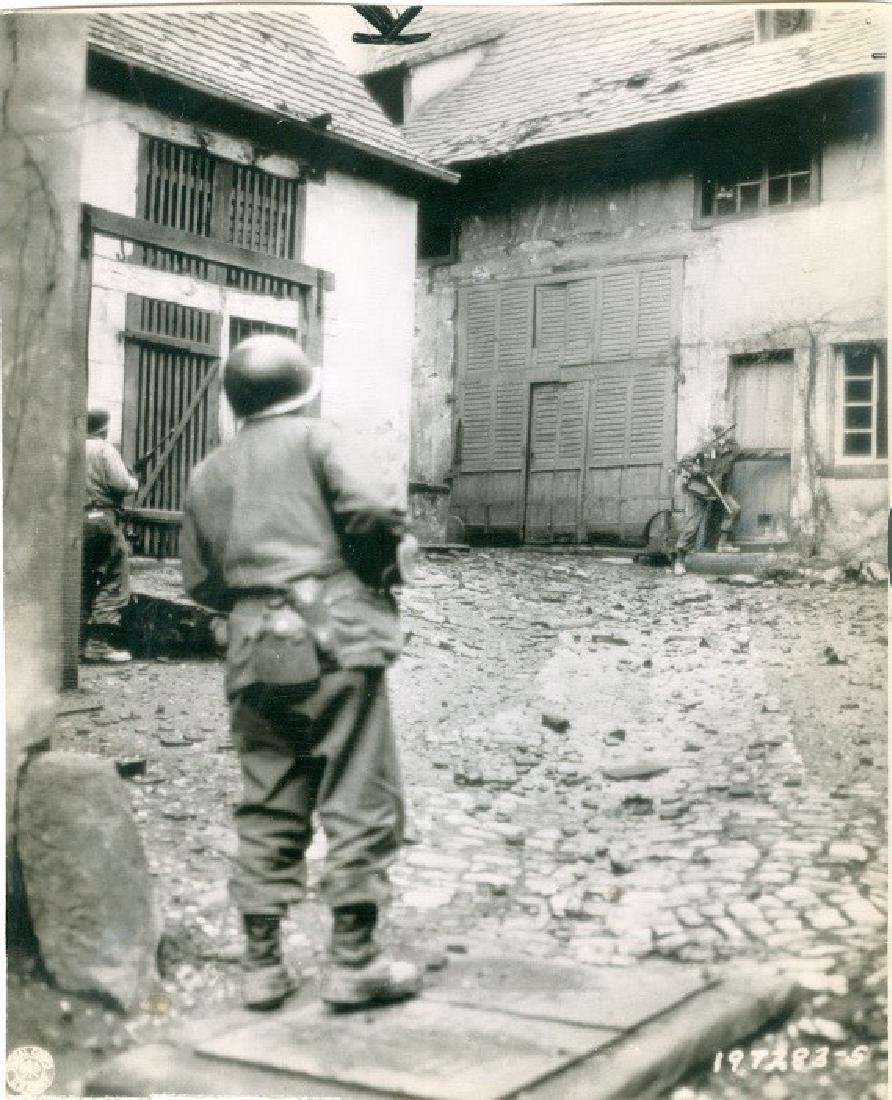 Sniper Hunt in French Town Photograph