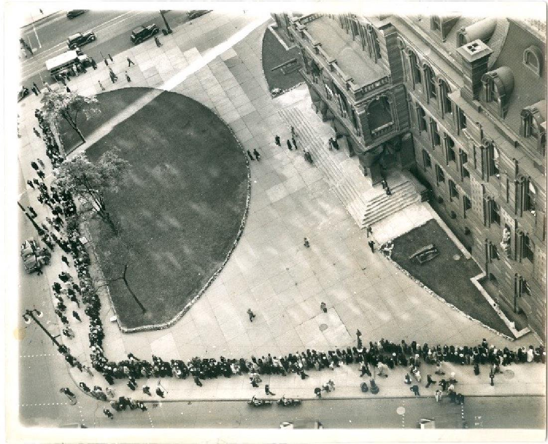 Aerial View of Detroit City Hall Photograph