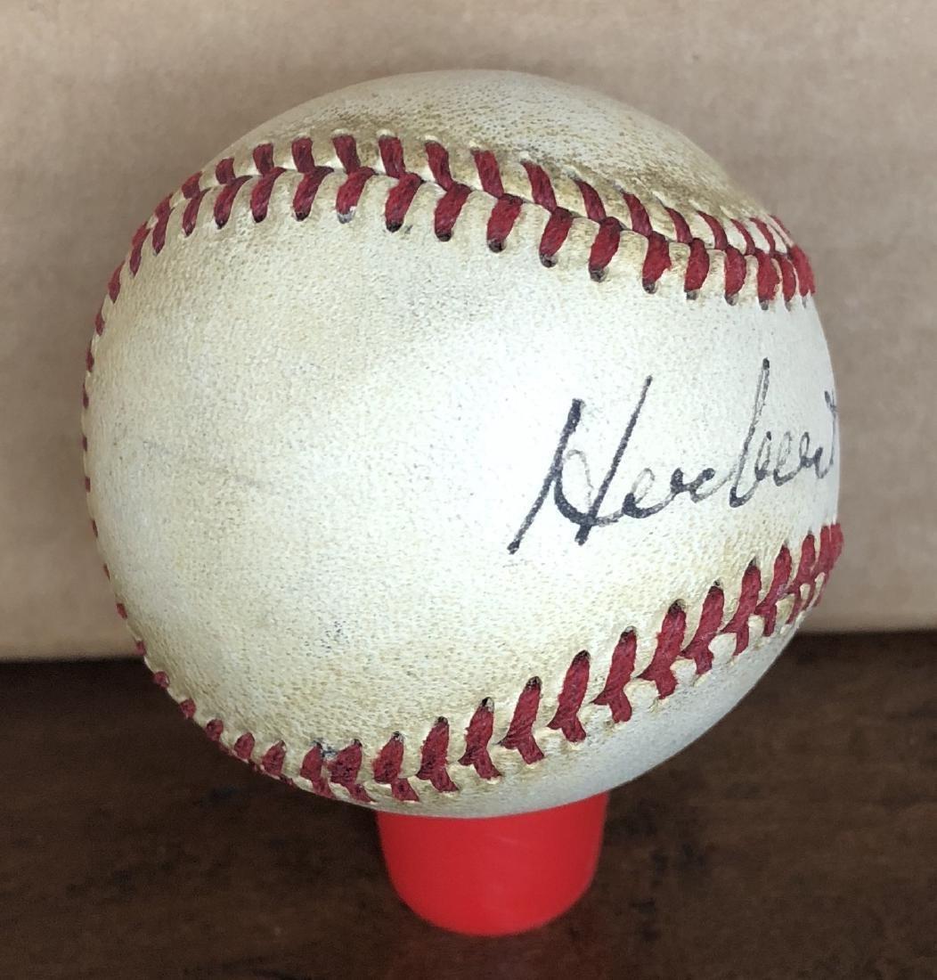 President Herbert Hoover Signed Baseball - 2