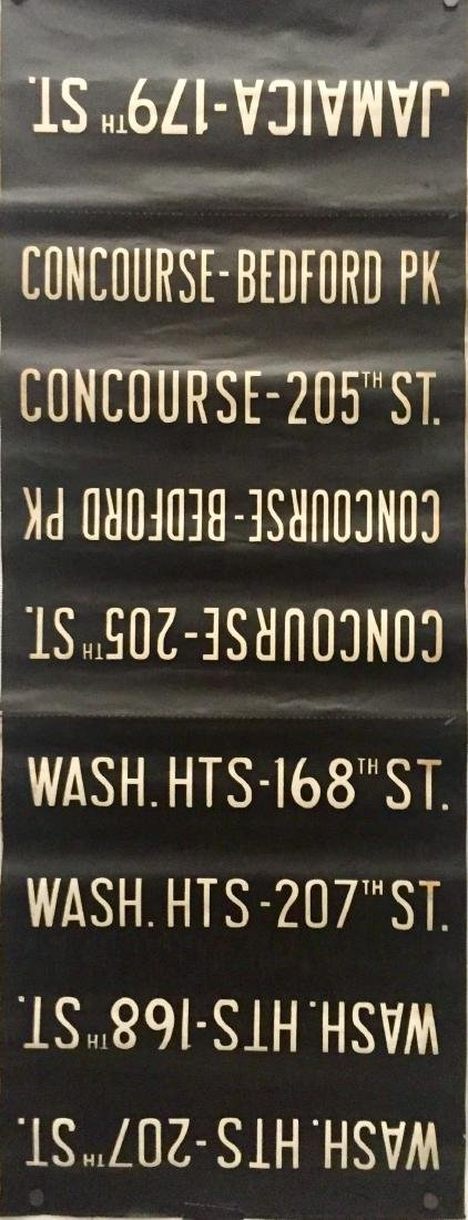 NYC Subway Destination Sign