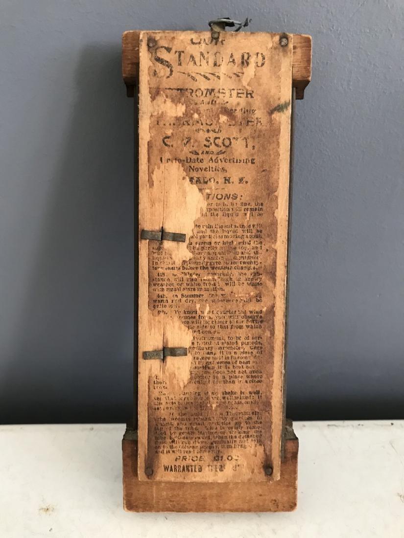 Banking Loan & Trust Co. Wooden Standard Barometer - 2