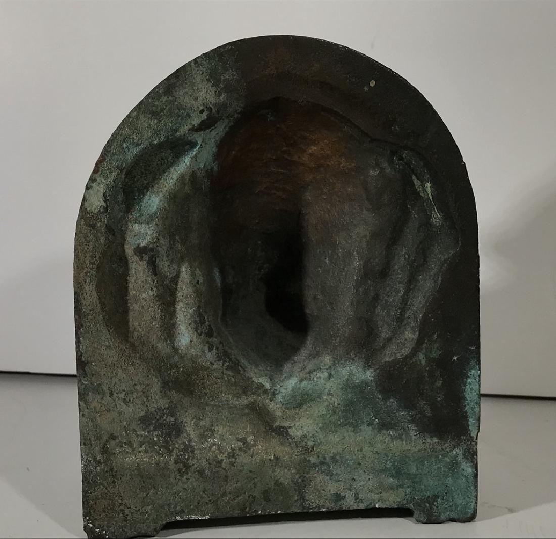 Bronze Dog Door Stop 20th Century - 2
