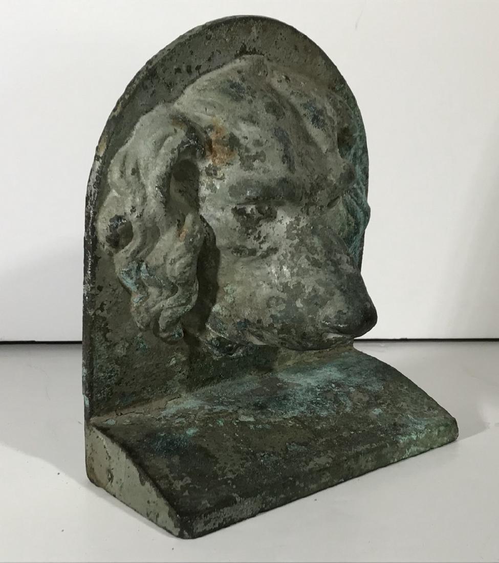 Bronze Dog Door Stop 20th Century - 3