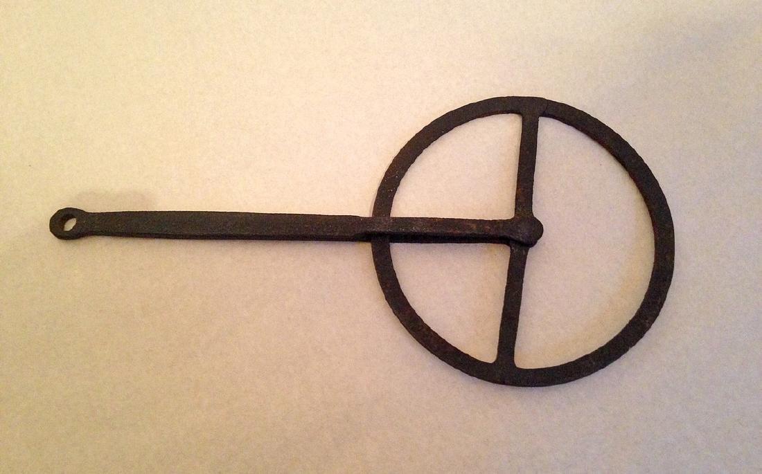 19th Century Iron Coppers Wheel