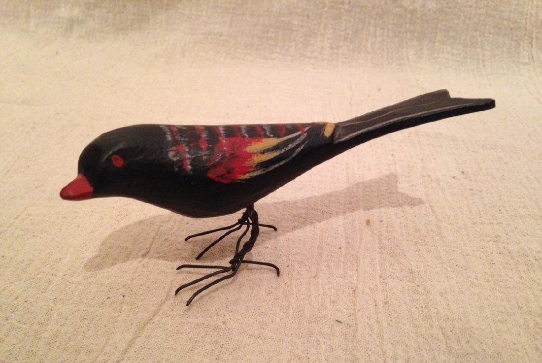 Carved & Painted Bird 1920