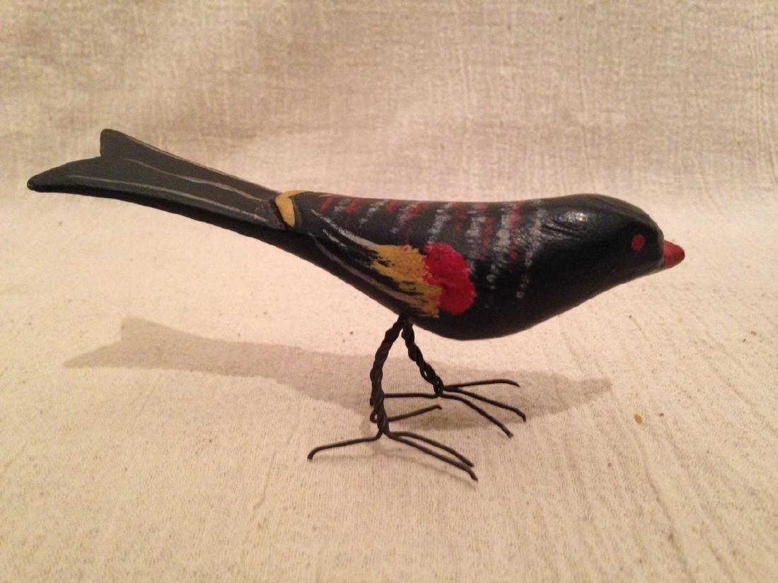 Carved & Painted Bird 1920 - 2