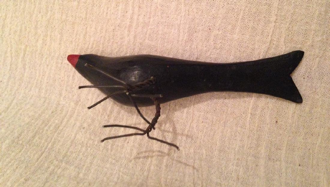 Carved & Painted Bird 1920 - 4