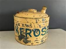 Galvanized Industrial Kerosene Can with Bail Handle