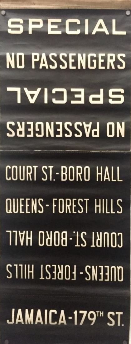 NYC Subway Destination Sign