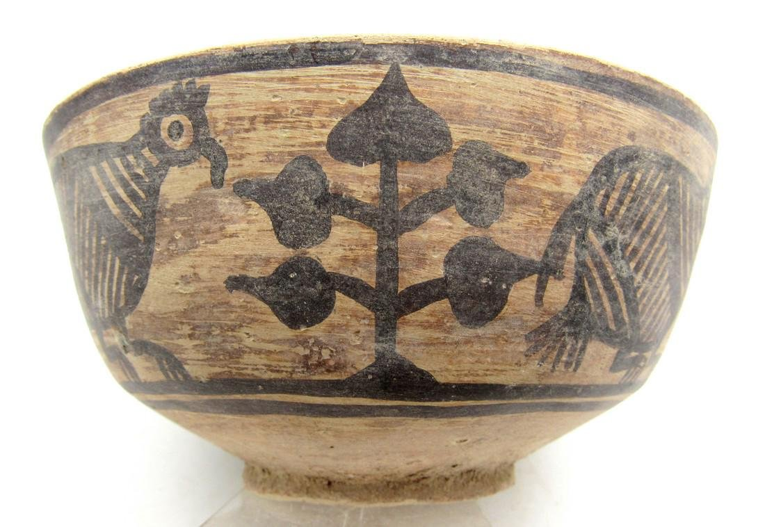 Ancient Indus Valley Terracotta Bowl with Bird Motif - 2
