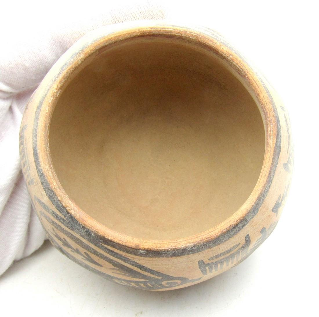 Ancient Indus Valley Terracotta Bowl with Ibex Motif - 3