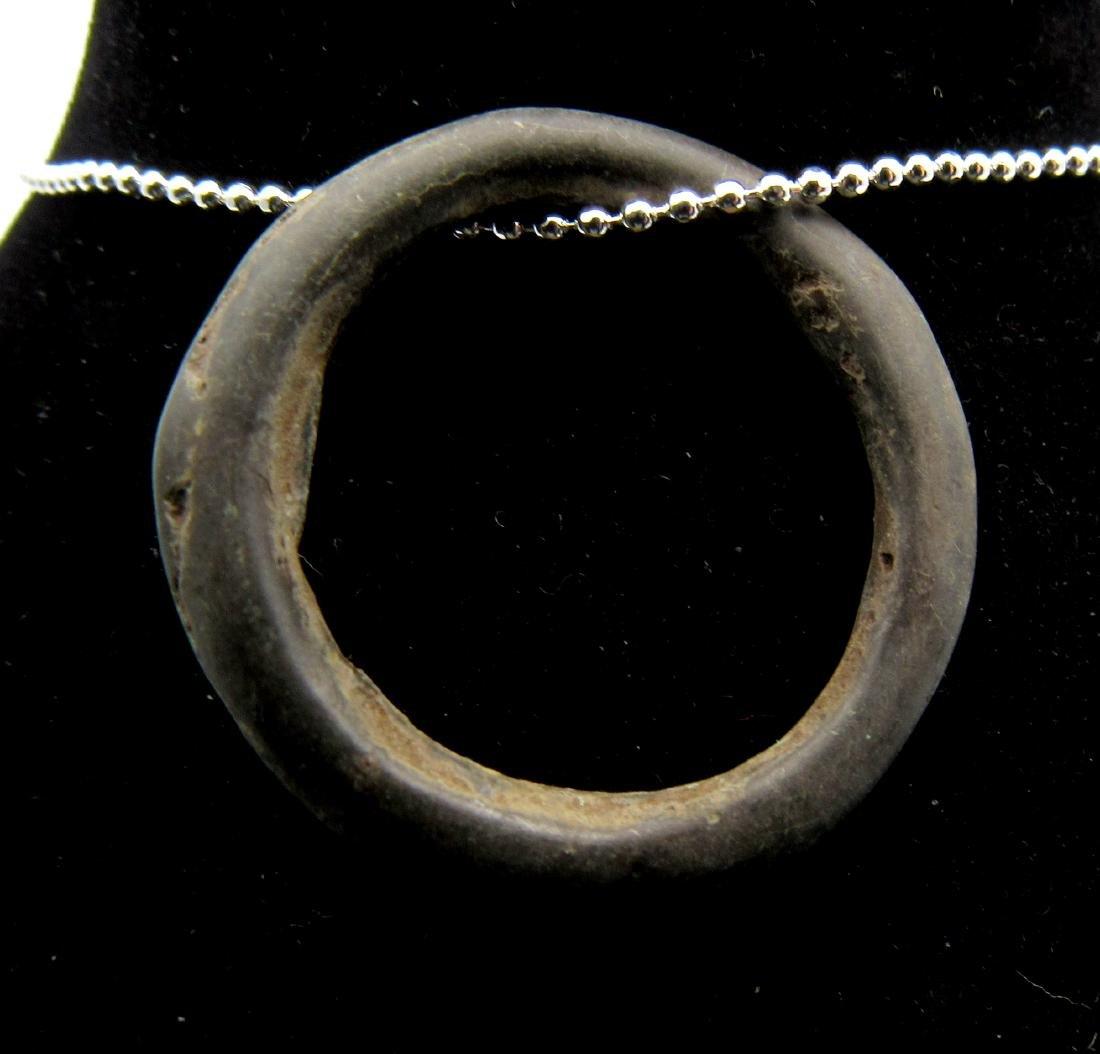 Ancient Bronze Age Sun Amulet