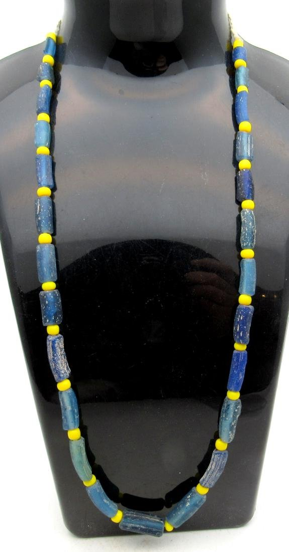 Medieval Viking Period Glass Necklace with 25 Beads
