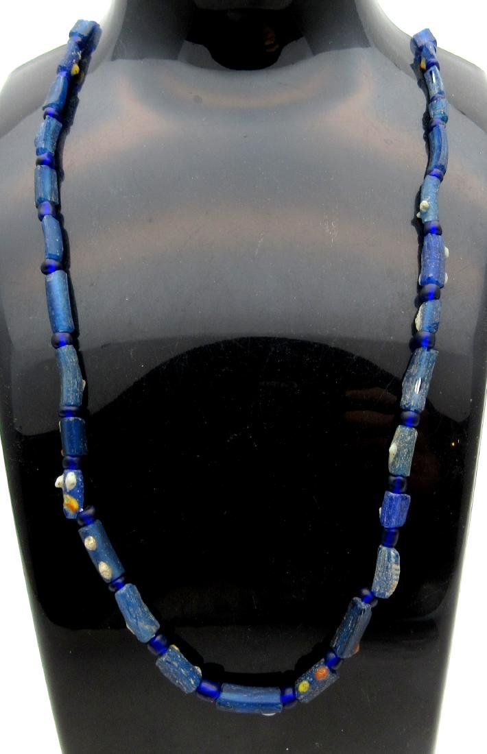 Medieval Viking Period Glass Necklace with 32 Beads