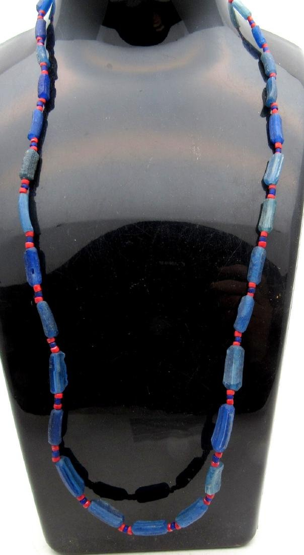Medieval Viking Period Glass Necklace with 29 Beads