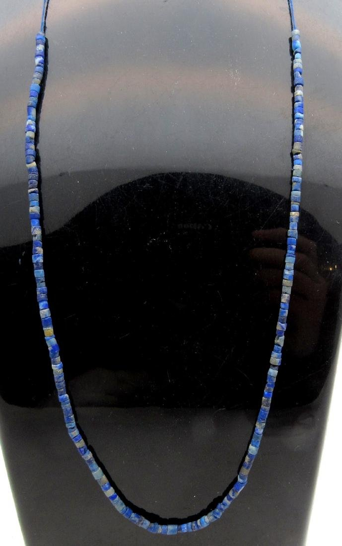Ancient Roman Lapis Lazuli Necklace with 100+ Beads