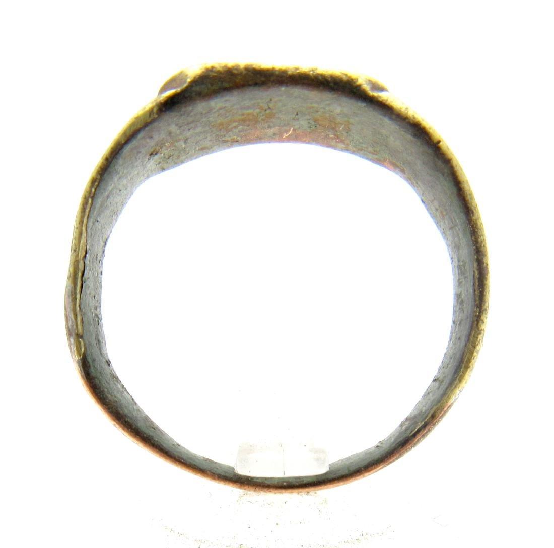 Medieval Bronze Fishermans Ring - 2