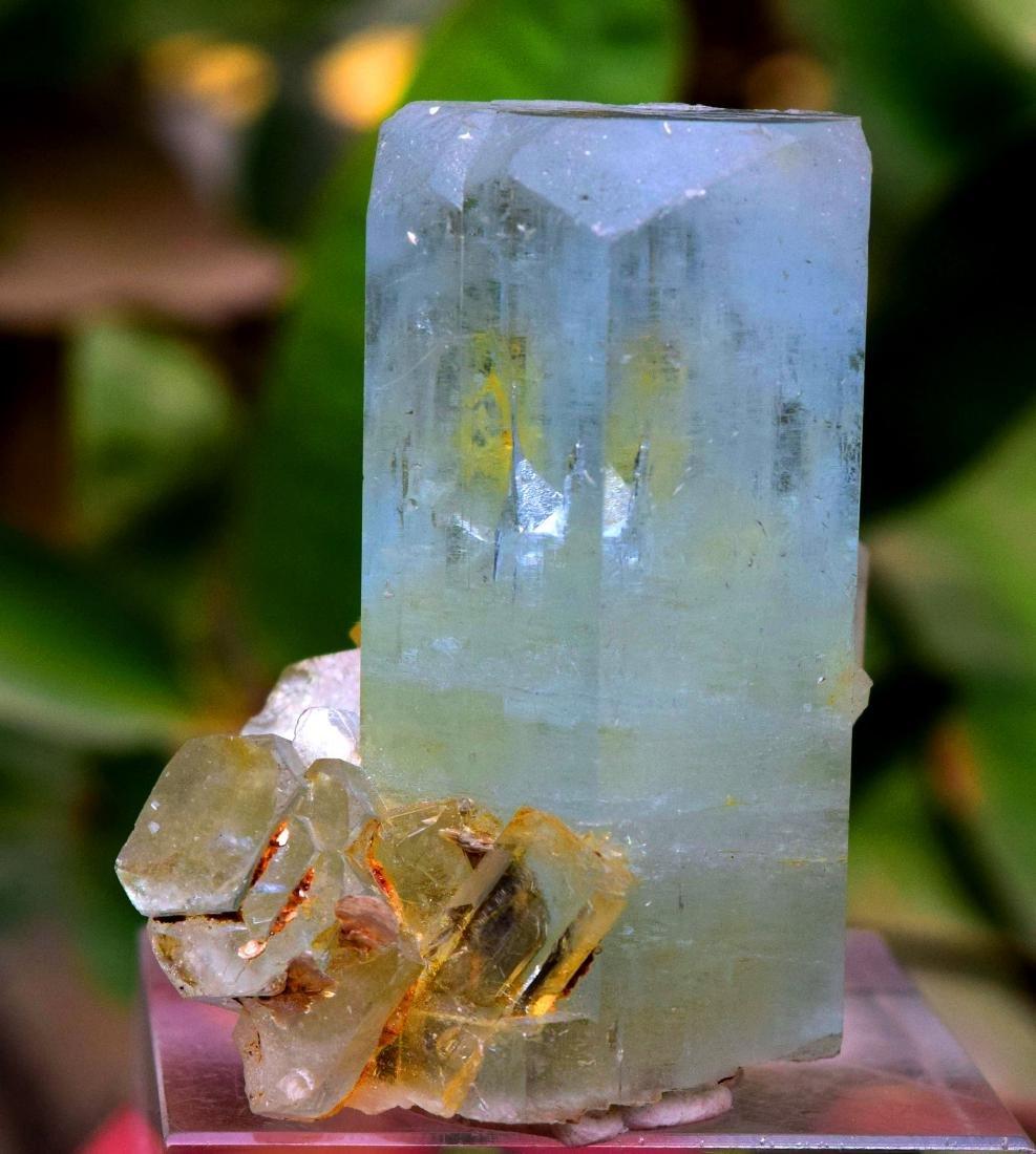 102 Gram Terminated & Undamaged Natural Aquamarine