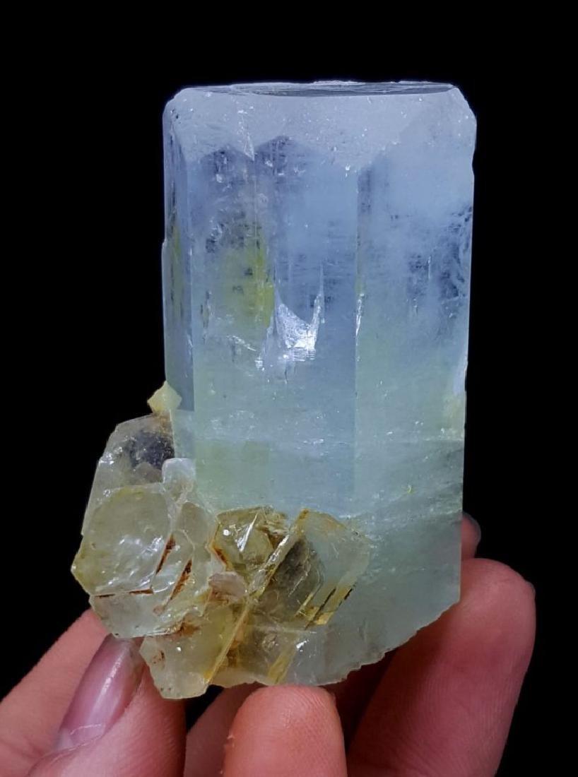 102 Gram Terminated & Undamaged Natural Aquamarine - 5