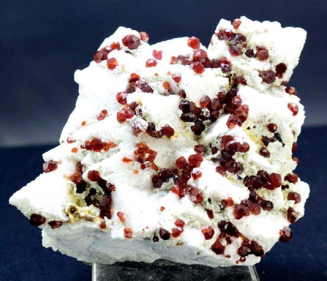 Top quality Red Color Natural garnet Crystals Cluster - 2