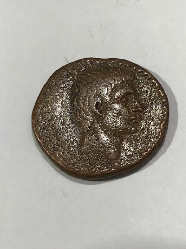 Roman Empire Augustus Coin