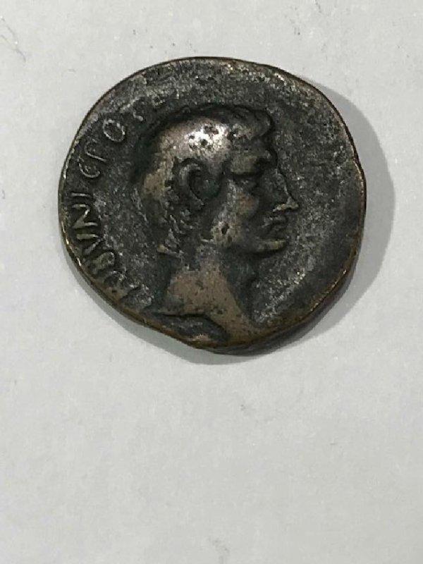 Roman Empire Augustus Coin